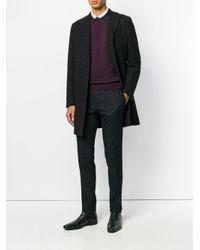 メンズ PT01 グレンチェック パンツ Black