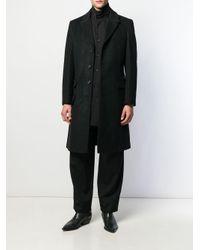 メンズ Yohji Yamamoto シングルコート Black