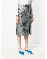 Erdem メタリックスカート Metallic