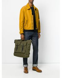 Ally Capellino Green 'frank Ripstop' Backpack for men