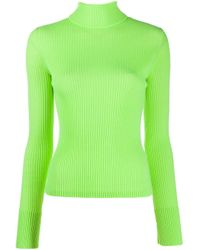 Maglione a collo alto M-Kimberly di DIESEL in Green