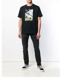 メンズ DIESEL プリント Tシャツ Black