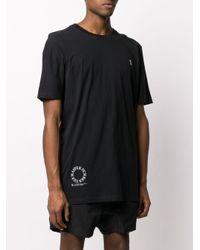 メンズ Boris Bidjan Saberi 11 ロゴ Tシャツ Black
