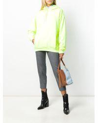 Petit sac bicolore porté épaule Lanvin en coloris Blue