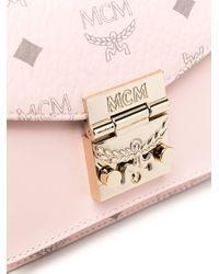 MCM Visetos ショルダーバッグ Pink