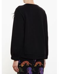 Stella McCartney Black Pom Pom Sweatshirt