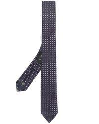 Tonello Blue Spotted Tie for men