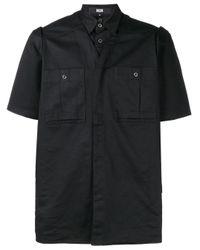 メンズ KTZ レイヤード Tシャツ Black