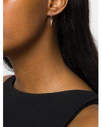 FEDERICA TOSI | Metallic Cubic Zirconia Cone Earrings | Lyst