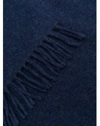A.P.C. ニット スカーフ Blue