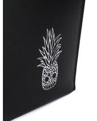 Маленький Клатч Saint Laurent для него, цвет: Black
