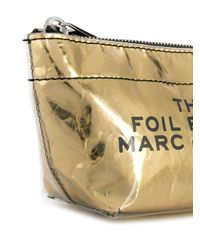 Marc Jacobs Foil ポーチ Metallic