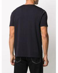 メンズ Neil Barrett パッチポケット Tシャツ Black