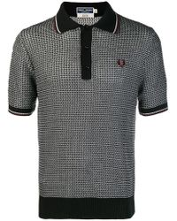 Fred Perry X Art Comes First - Black Poloshirt for Men - Lyst