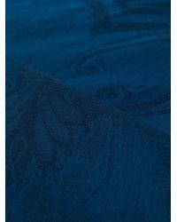 Écharpe à motif cachemire Etro pour homme en coloris Blue
