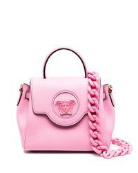 Versace メデューサ バッグ Pink