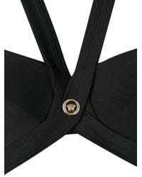 Versace メデューサ ブラ Black