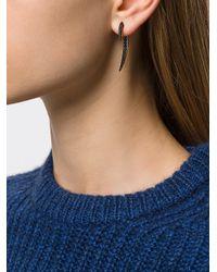 Shaun Leane - Metallic Black Spinel Hook Earring - Lyst