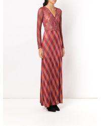 Cecilia Prado - Red Nara Knit Dress - Lyst