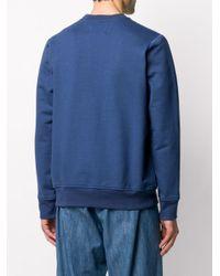 メンズ CASABLANCA Casa Block スウェットシャツ Blue