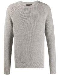 Michael Kors Gray Rib Knit Jumper for men