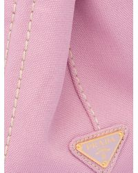 Prada ロゴ ハンドバッグ Pink