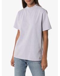 Les Tien モックネック Tシャツ Multicolor