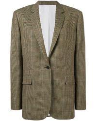 CALVIN KLEIN 205W39NYC チェック テーラードジャケット Multicolor