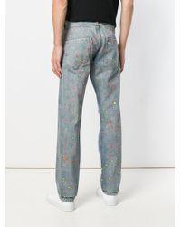 Philipp Plein - Blue Cruise Straight Cut Jeans for Men - Lyst