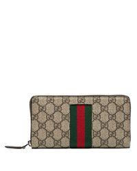 Portefeuille GG Supreme Gucci pour homme en coloris Multicolor