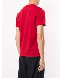 メンズ Kent & Curwen ロゴ Tシャツ Red