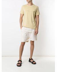 メンズ Osklen Stone Simplifique Tシャツ Yellow