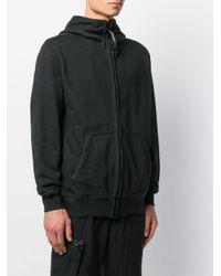 C P Company Kapuzenjacke mit aufgesticktem Logo in Black für Herren