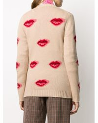 Prada インターシャ セーター Pink