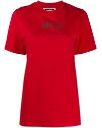 T-shirt con stampa di McQ Alexander McQueen in Red