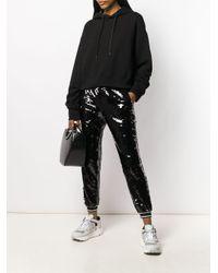 Pantalones de chándal con lentejuelas MICHAEL Michael Kors de color Black