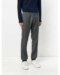 Etro Gray Tailored Trousers for men