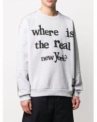 メンズ Buscemi New York 3d スウェットシャツ Gray