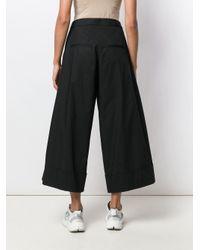 Pantalones palazzo estilo capri Societe Anonyme de color Black