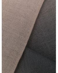 N.Peal Cashmere グラデーション カシミア ストール Multicolor