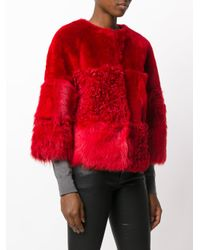 Desa Nineteenseventytwo - Red Cropped Jacket - Lyst