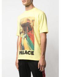 T-shirt Stoggie di Palace in Yellow da Uomo