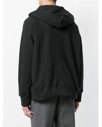Sudadera con capucha y bolsillo en el frente MR. COMPLETELY de hombre de color Black