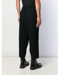 メンズ Yohji Yamamoto サルエルパンツ Black