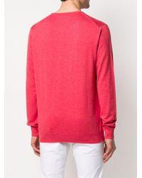 メンズ Polo Ralph Lauren ロゴ プルオーバー Red