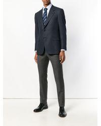 Brioni - Blue Button-down Shirt for Men - Lyst