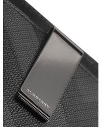 Burberry - Black London Check Cardholder for Men - Lyst