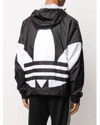 メンズ Adidas ロゴ ジャケット Black