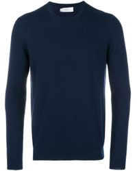 Classic round neck jumper Pringle of Scotland pour homme en coloris Blue