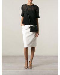 MICHAEL Michael Kors Black Mini 'selma' Crossbody Bag